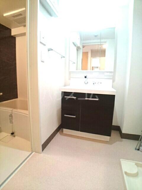 バーバリー・ヒル 106号室の洗面所