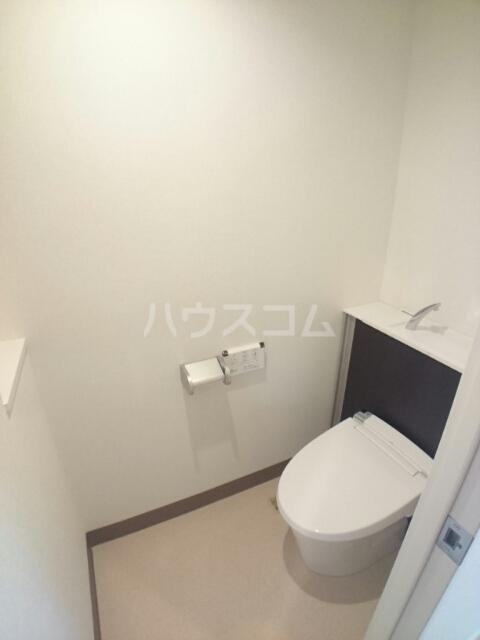 バーバリー・ヒル 106号室のトイレ
