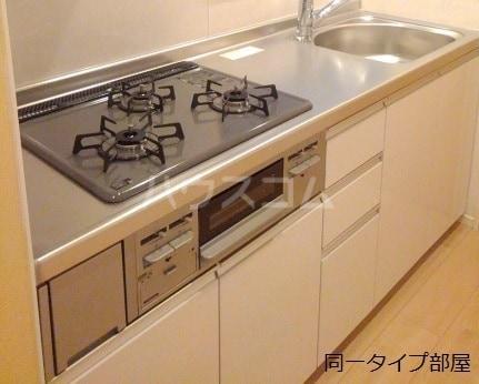 ホロンリバー 02020号室のキッチン