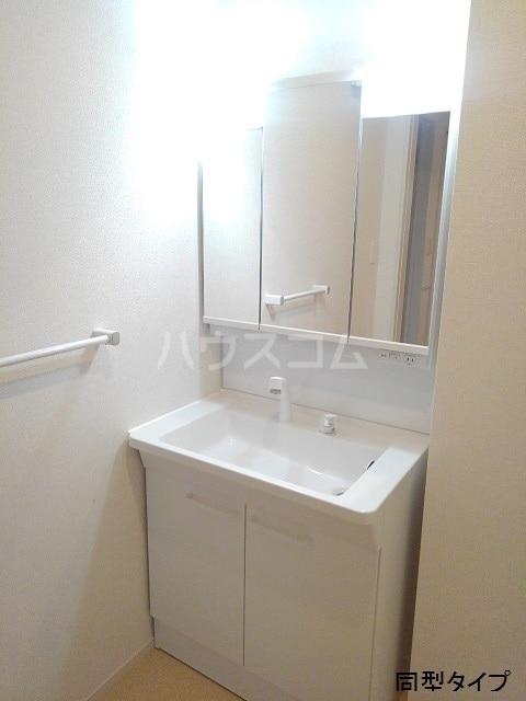 ホロンリバー 02020号室の洗面所
