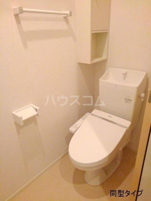 ホロンリバー 02020号室のトイレ