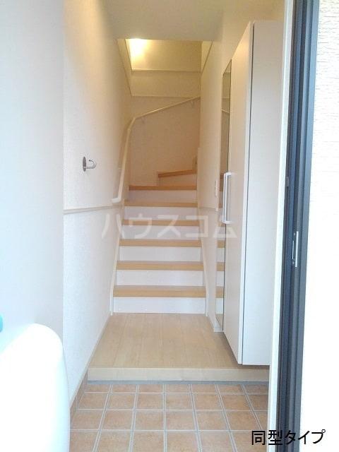 ホロンリバー 02020号室の玄関