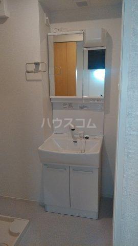 プラシード 01070号室の洗面所