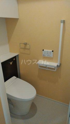プラシード 01070号室のトイレ