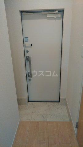 プラシード 01070号室の玄関