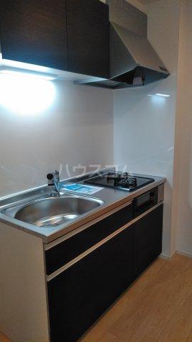 プラシード 01080号室のキッチン