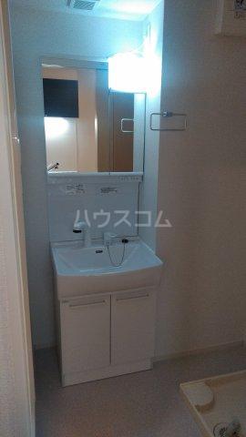 プラシード 03020号室の洗面所