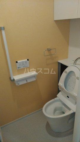 プラシード 03020号室のトイレ