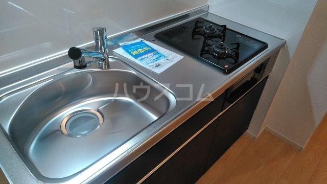 プラシード 03020号室のキッチン