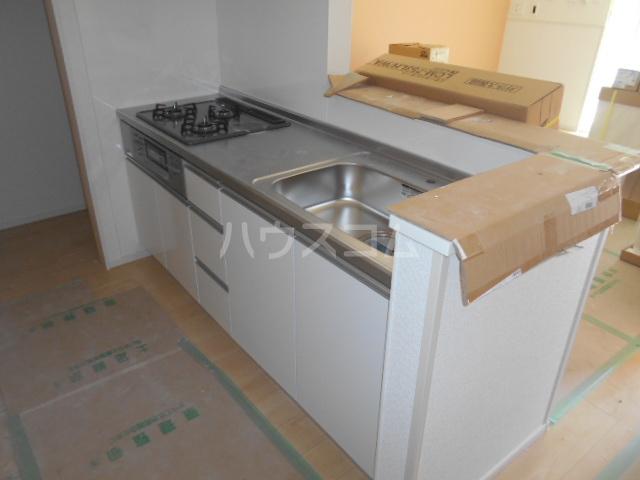 リオンドール駒形B 01030号室のキッチン