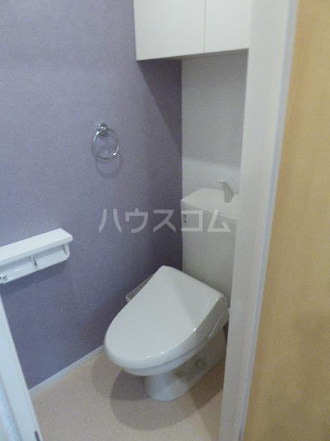 カーサ ブローテF 01020号室のトイレ