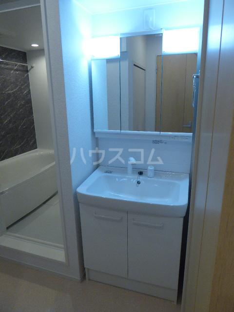 カーサ ブローテF 01020号室の洗面所