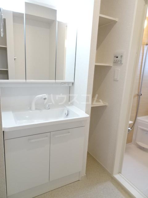 メゾンヌフファミーエⅣ 203号室の洗面所
