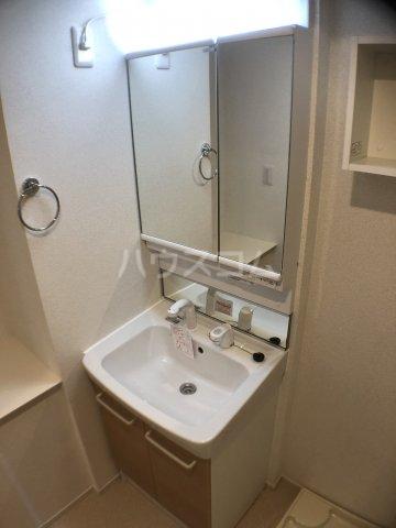 サニーオレンジ 208号室の洗面所