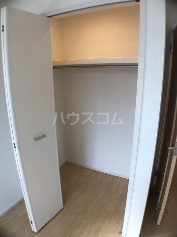 サニーオレンジ 208号室の収納