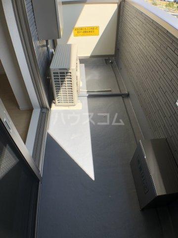 サニーオレンジ 208号室のバルコニー