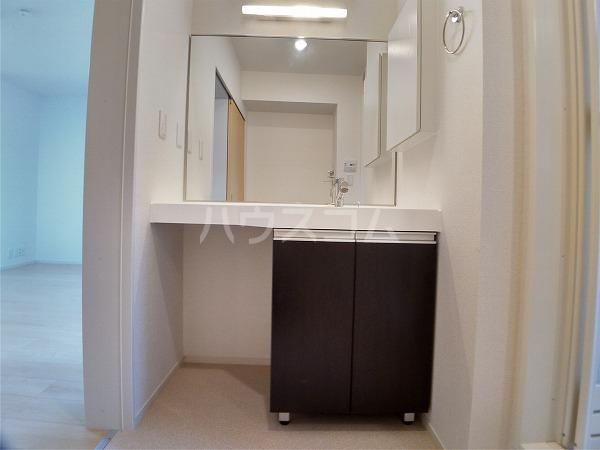 シャトレー 101号室の洗面所