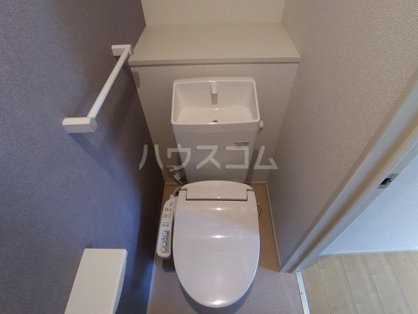 シャトレー 101号室のトイレ