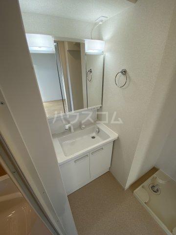 ツバキハイツ 201号室の洗面所