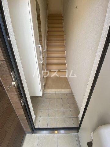 メゾン・ボヌール 205号室の玄関