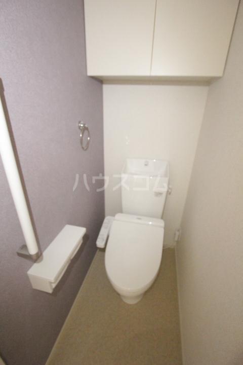 ベルアンジュⅡ 101号室のトイレ