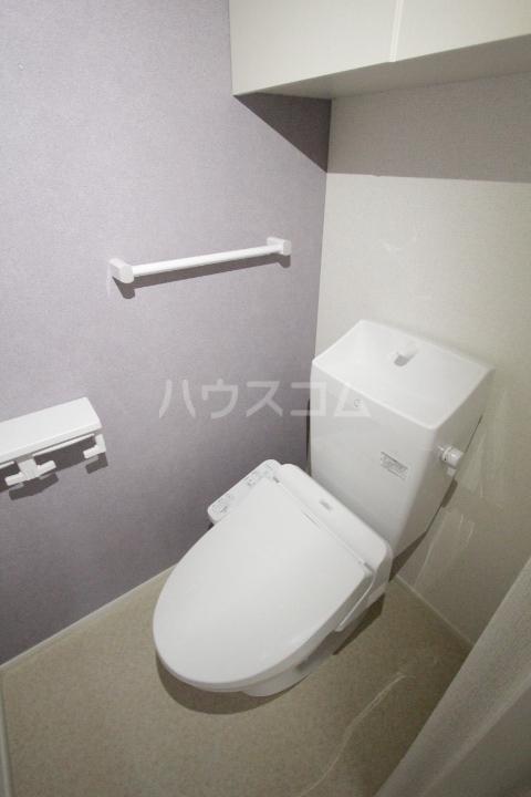 プリーアディーズ 102号室のトイレ