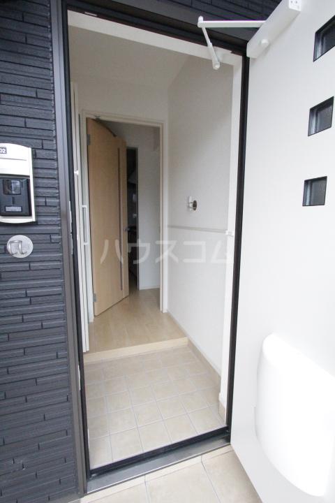 プリーアディーズ 102号室の玄関