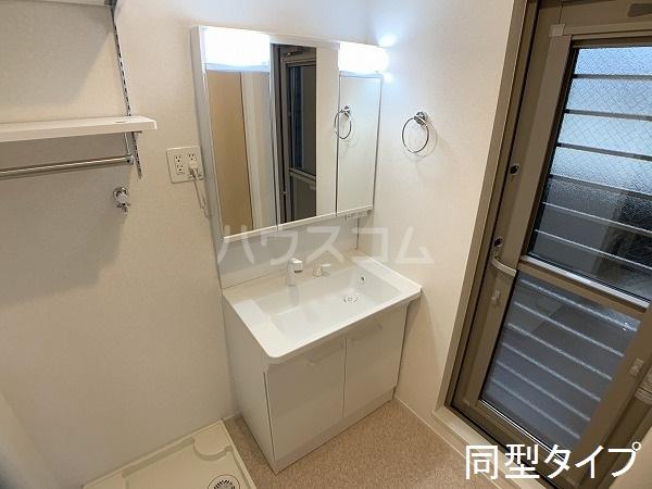 ベル アルカンシエル 205号室の洗面所