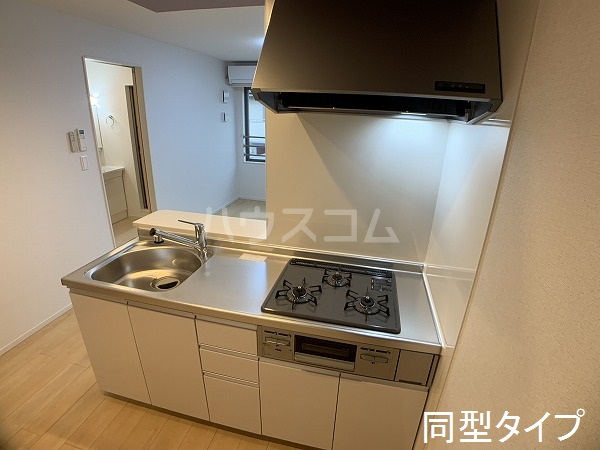 ベル アルカンシエル 205号室のキッチン