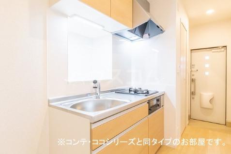 フォレスト 横須賀 108号室のキッチン