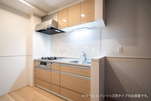 ミ・カーサⅡ 303号室のキッチン