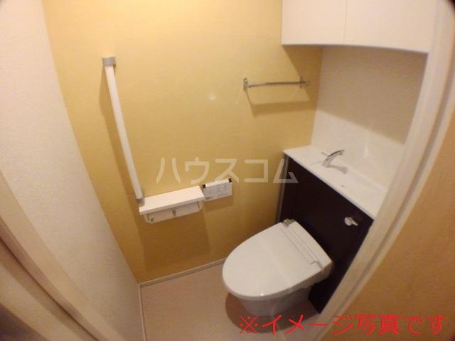 ベリッシュ 601号室のトイレ