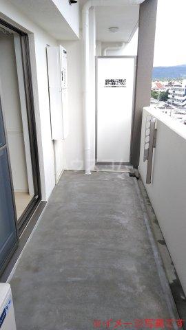 ベリッシュ 601号室のバルコニー