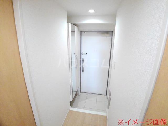 ソレイユメゾン 202号室の玄関