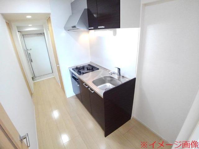 ソレイユメゾン 203号室のキッチン