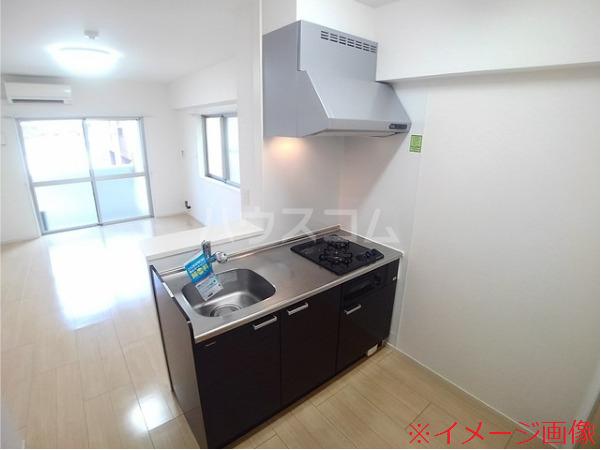ソレイユメゾン 210号室のキッチン