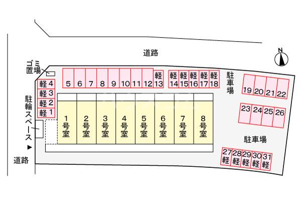 玉城SOU(タマグスクソウ) 102号室のその他