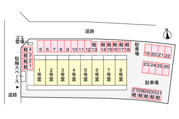 玉城SOU(タマグスクソウ) 205号室のその他