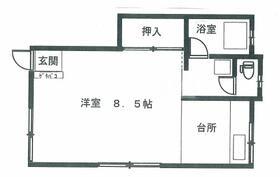 フォートオリオン 1-1号室の収納