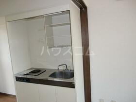 リバーサイド・シモゴー 206号室のキッチン