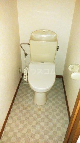 シェルコート倉賀野 402号室のトイレ