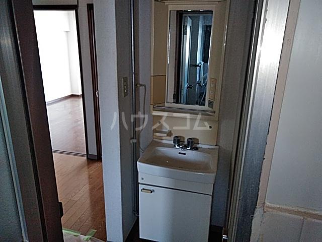 南コーポラス 202号室の洗面所