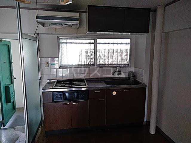 南コーポラス 202号室のキッチン