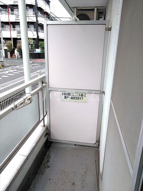 HOSOI-'93 110号室のバルコニー