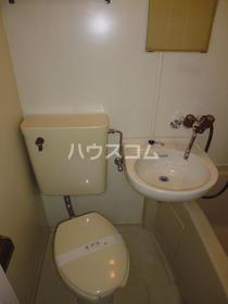 藤栄ハイツ 202号室のトイレ