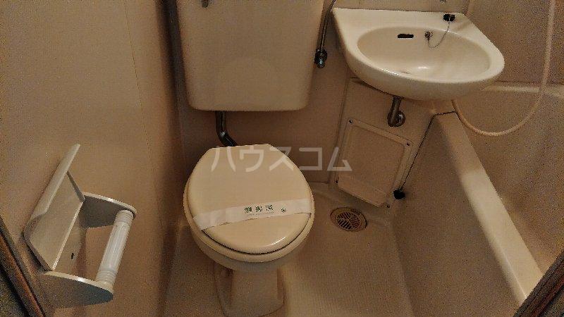 サンプラザ港南中央ⅡB棟 105号室のトイレ