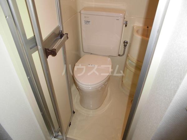 露橋ロイヤルハイツ I 5K号室のトイレ