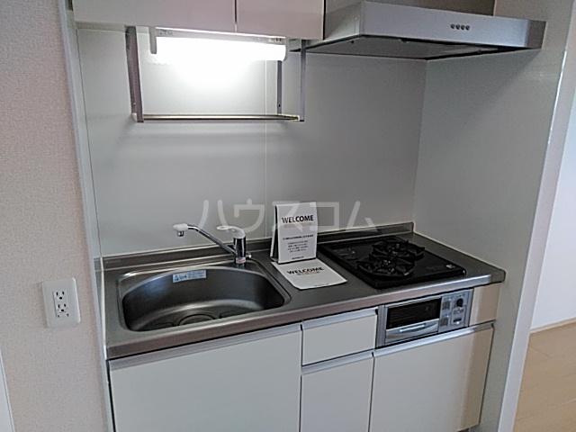 アンフルール 206号室のキッチン