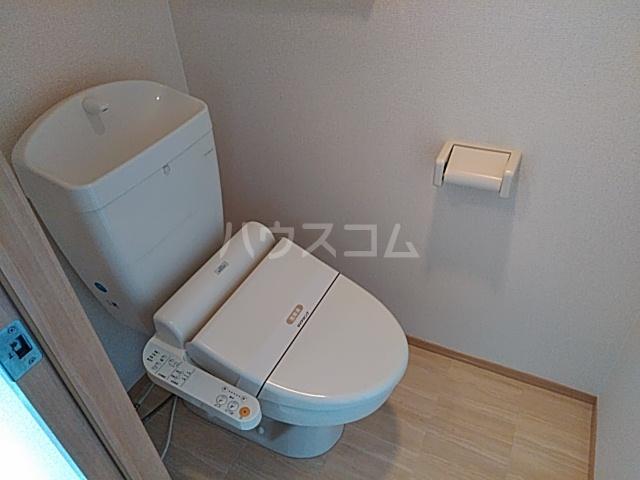 アンフルール 206号室のトイレ