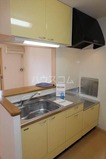 シャトーファミリーハイツ F 202号室のキッチン